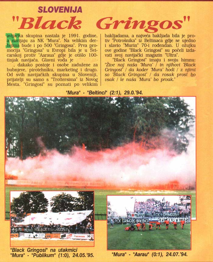 Black Gringos, Tifo magazin, 6. december 1995