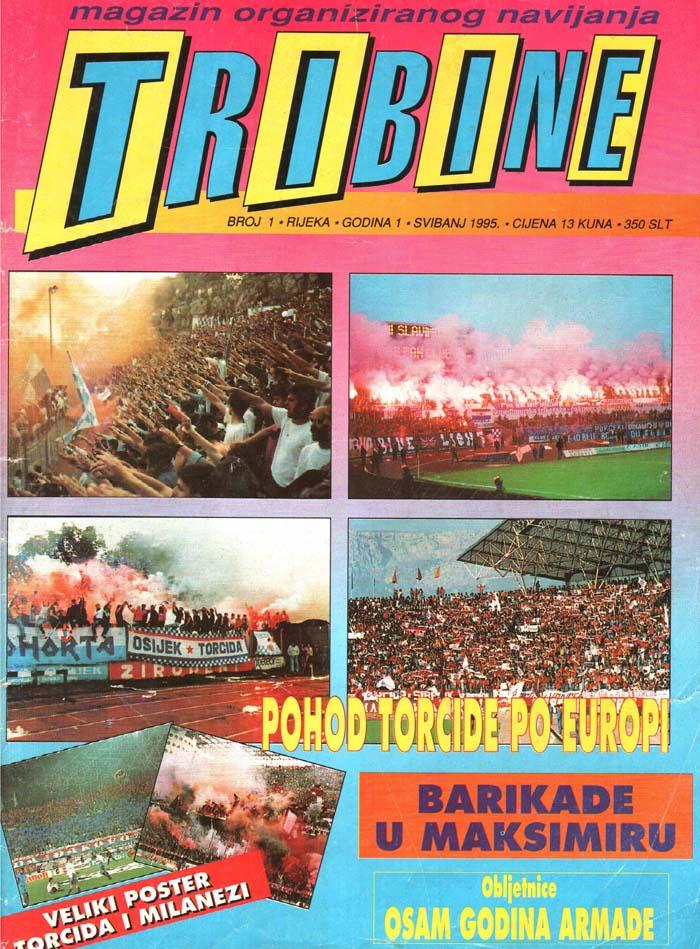 Naslovnica Tribine, 1. maj 1995