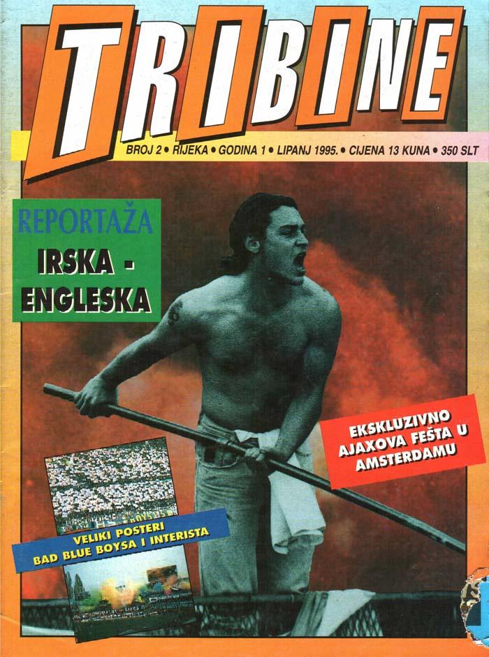 Naslovnica Tribine, 2. junij 1995