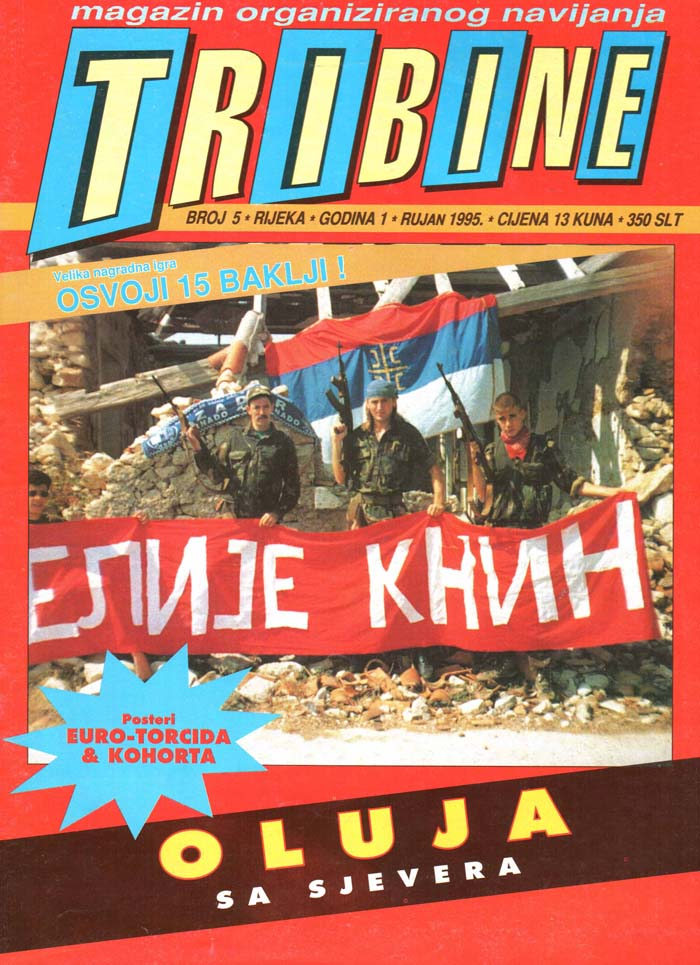 Naslovnica Tribine, 5. september 1995