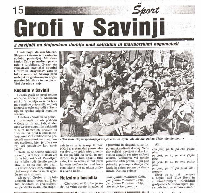 Po tekmi Publikum : Maribor, 1. del
