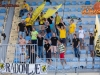 Supporters of NK Kalcer Radomlje during football match between NK Domzale and NK Kalcer Radomlje in First Round of Prva liga Telekom Slovenije 2016/17, on July 17th, 2016, in Sportni park Domzale, Domzale, Slovenia. Photo by Ziga Zupan / Sportida
