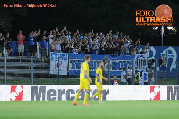 Soccer/Football, Nova Gorica, First Division, 07. round of Prva liga Telekom Slovenije (ND Gorica - NK Domzale), Terror boys, Gorica fans, 26-Aug-2016, (Photo by: Nikola Miljkovic / M24.si)