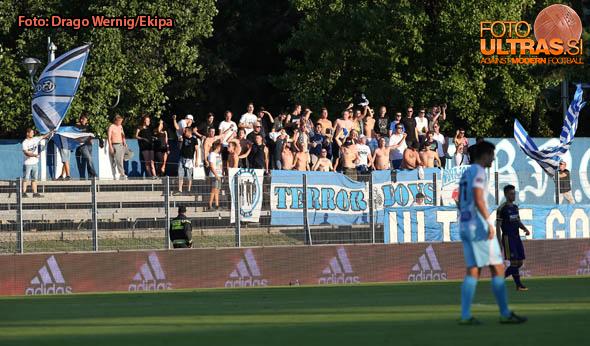 Soccer/Football, Gorica, First division, (NK Gorica - NK Maribor), Fans Gorica, 13-Aug-2016 (Photo by: Drago Wernig / Ekipa)