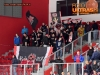 Ice Hockey, Slovenia, Jesenice, First division (Jesenice - ECE Celje), Hockey team Jesenice fans celebrating, 24-Mar-2016, (Photo by: Arsen Peric / M24.si)