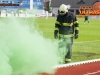 Firefighter during football match between NK Krka and NK Olimpija Ljubljana in Round #27 of Prva liga Telekom Slovenije 2015/16, on 2nd April, 2016 in Portoval, Novo Mesto, Slovenia. Photo by Urban Urbanc / Sportida
