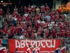 Fans of Aberdeen during 2nd Leg football match between NK Maribor (SLO) and FC Aberdeen (SCO) in Third Qualifying Round of UEFA Europa League 2016/17, on August 4, 2016, in Sports park Ljudski vrt, Maribor, Slovenia. Photo by Morgan Kristan / Sportida