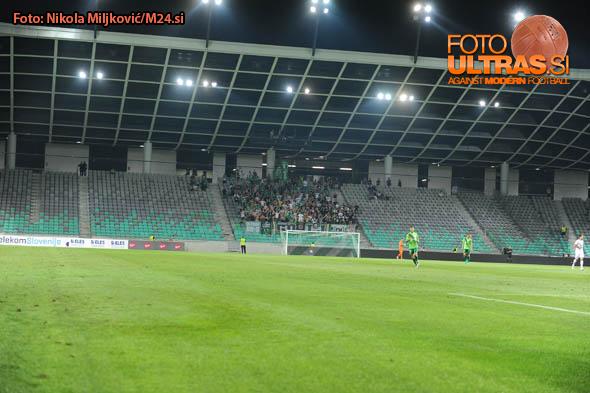 Soccer/Football, Ljubljana, First Division, 07. round of Prva liga Telekom Slovenije (NK Olimpija - FC Luka Koper), Stadium Stozice, 27-Aug-2016, (Photo by: Nikola Miljkovic / M24.si)