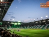 Supporters of Olimpija during football match between NK Olimpija Ljubljana and NK Maribor in 33rd Round of Prva liga Telekom Slovenije 2015/16, on May 7, 2016, in SRC Stozice, Ljubljana, Slovenia. Photo by Vid Ponikvar / Sportida