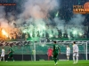 Green Dragons, supporters of Olimpija during football match between NK Olimpija Ljubljana and NK Maribor in 33rd Round of Prva liga Telekom Slovenije 2015/16, on May 7, 2016, in SRC Stozice, Ljubljana, Slovenia. Photo by Vid Ponikvar / Sportida