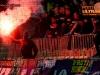Viole, supporters of Maribor during football match between NK Olimpija Ljubljana and NK Maribor in 33rd Round of Prva liga Telekom Slovenije 2015/16, on May 7, 2016, in SRC Stozice, Ljubljana, Slovenia. Photo by Vid Ponikvar / Sportida