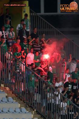 action during Prva liga Telekom Slovenije 2016-2017 football match between Radomlje and Olimpija Ljubljana in Domzale Sports Park on July 23, 2016
