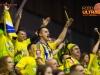 Fans during the handball match between RK Celje Pivovarna Lasko (SLO) and Prvo Plinarsko drustvo Zagreb (CRO) in 1st round, group B of EHF Champions League 2016/17 on September 24, 2016 in Arena Zlatorog, Celje, Slovenia. Photo by Ziga Zupan / Sportida