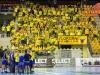Players and fans during the handball match between RK Celje Pivovarna Lasko (SLO) and Prvo Plinarsko drustvo Zagreb (CRO) in 1st round, group B of EHF Champions League 2016/17 on September 24, 2016 in Arena Zlatorog, Celje, Slovenia. Photo by Ziga Zupan / Sportida