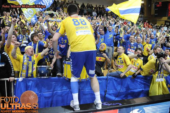HandballKoper, EHF Champions League (Cimos Koper - Atletico Madrid)Vladimir Osmajic21-Apr-2012(Photo by: Nikola Miljkovic / Ekipa)