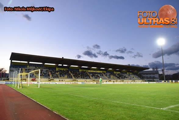 Soccer/Football, Domzale, Slovenia Cup (NK Domzale - NK Olimpija Ljubljana), Domzale stadium, 22-Oct-2014, (Photo by: Nikola Miljkovic / Krater Media)