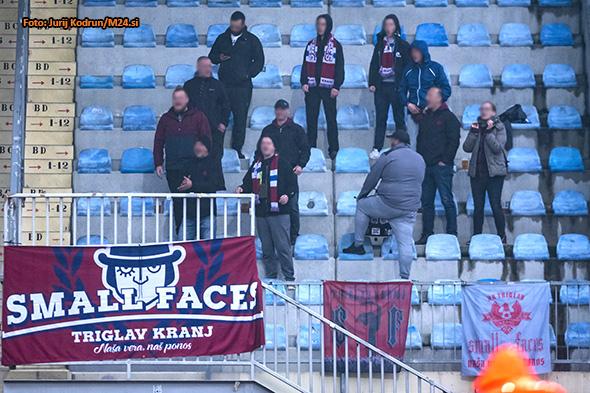 Soccer/Football, Domzale, First division (NK Domzale - NK Triglav), fans, 10-Apr-2019, (Photo by: Jurij Kodrun / M24.si)