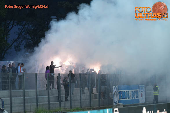 Soccer/Football, Nova Gorica, First division (ND Gorica - NK Celje), Terror boys, 16-Apr-2017, (Photo by: Grega Wernig / M24.si)