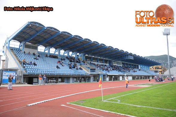 Soccer/Football, Nova Gorica, First Division (ND Gorica - NK CM Celje), stadium Gorica, 13-Sep-2014, (Photo by: Nikola Miljkovic / Krater Media)