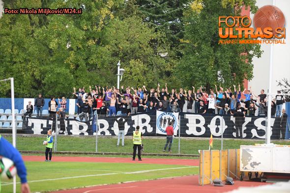 Soccer/Football, Nova Gorica, First Division (ND Gorica - NK Celje), Gorica fans, Terror Boys, 05-Oct-2015, (Photo by: Nikola Miljkovic / M24.si)