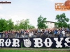 Terror Boys, fans of Gorica during football match between ND Gorica and NK Maribor in 9th Round of Prva liga Telekom Slovenije 2015/16, on September 12, 2015, in Sports centrum Nova Gorica, Slovenia. Photo by Vid Ponikvar / Sportida