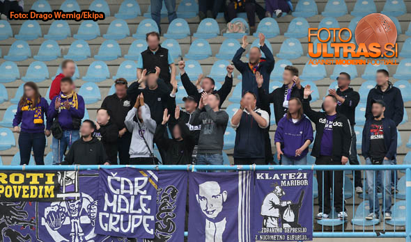 Soccer/Football, Gorica, First Division (ND Gorica - NK Maribor), Viole, 02-May-2015, (Photo by: Drago Wernig / Ekipa)