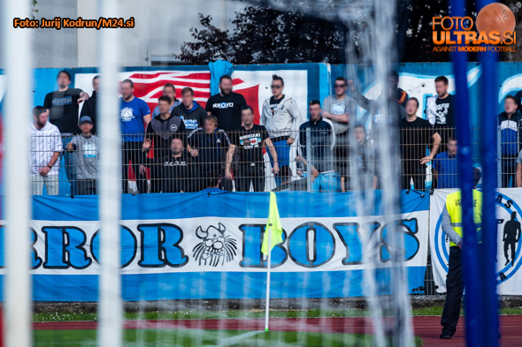 Soccer/Football, Nova Gorica, First division (NK Gorica - NK Rudar), fans, 14-May-2019, (Photo by: Jurij Kodrun / M24.si)
