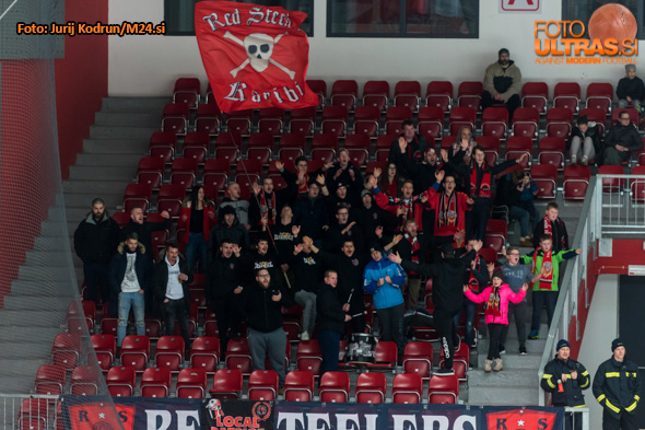 Ice Hockey, Jesenice, Alps Hockey League (Jesenice - Salzburg Juniors), fans, 20-Jan-2019, (Photo by: Jurij Kodrun / M24.si)