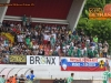 Soccer/Football, Krsko, First Division (NK Krsko - FC Luka Koper), spectators, NK Krsko fans, Nuclear Power Boys, 26-Jul-2015, (Photo by: Nikola Miljkovic / M24.si)