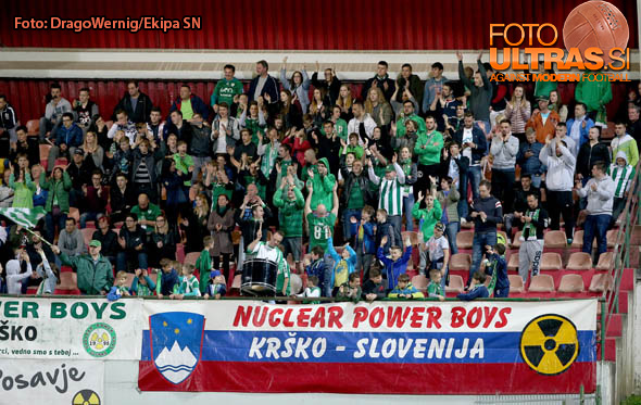 Soccer/Football, Krsko, First division (NK Krsko - NK Maribor), Fans, 01-Apr-2017, (Photo by: Drago Wernig / Ekipa)