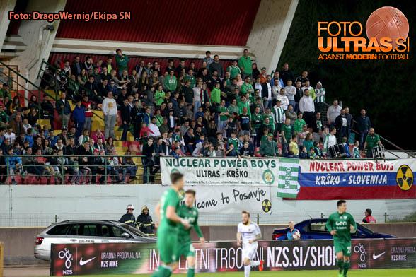Soccer/Football, Krsko, First division (NK Krsko - NK Maribor), Fans Krsko, 01-Apr-2017, (Photo by: Drago Wernig / Ekipa)