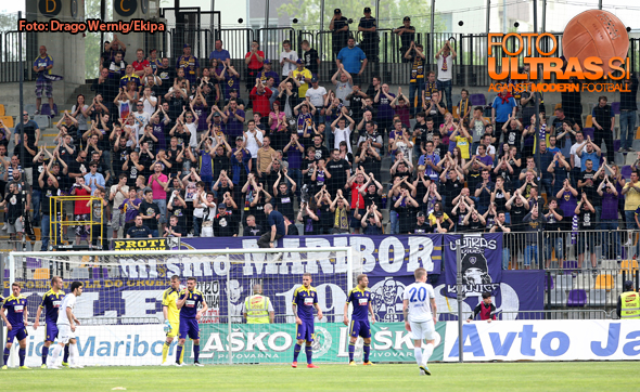 Soccer/Football, Maribor, First Division (NK Maribor - NK Celje), Viole, 06-May-2015, (Photo by: Drago Wernig / Ekipa)