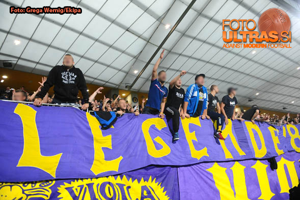 Soccer/Football, Maribor, UEFA Champions League (NK Maribor - Celtic Glasgow), Viole fans, 20-Aug-2014, (Photo by: Grega Wernig / Ekipa)