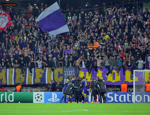 Soccer/Football, Maribor, UEFA Champions League (NK Maribor - FC Chelsea), Viole, 05-Nov-2014, (Photo by: Gregor Katic)