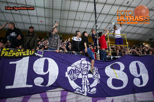 Celebration after football match between NK Maribor and NK Domzale in 34th Round of Prva liga Telekom Slovenije 2014/15, on May 16, 2015 in Stadium Ljudski vrt, Maribor, Slovenia. Photo by Matic Klansek Velej / Sportida