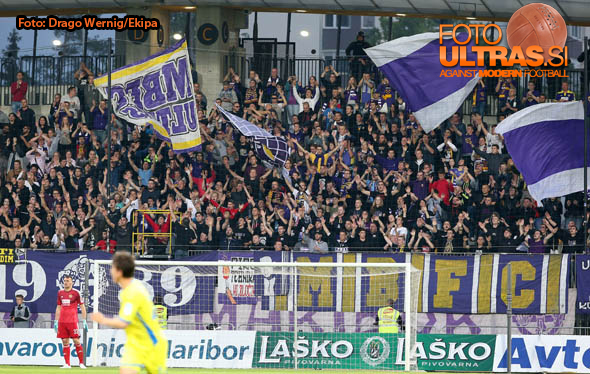 Soccer/Football, Maribor, First division (NK Maribor - NK Domzale), Fans Maribor, 16-May-2015, (Photo by: Drago Wernig / Ekipa)
