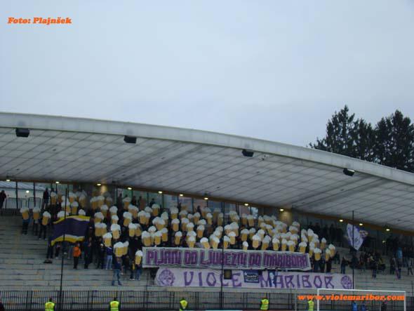 Pokal Hervis, polfinalna povratna tekma: Maribor-Luka Koper, 26. 4. 2011