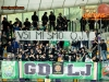 Green Dragons, fans of Olimpija during football match between NK Maribor and NK Olimpija Ljubljana in 30th Round of Prva liga Telekom Slovenije 2014/15, on April 29, 2015 in Stadium Ljudski vrt, Maribor, Slovenia. Photo by Vid Ponikvar / Sportida