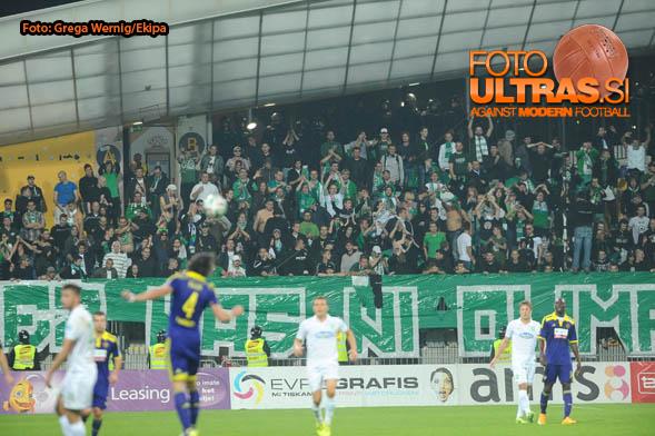 Soccer/Football, Maribor, First division (NK Maribor - NK Olimpija), , 04-Oct-2014, (Photo by: Grega Wernig / Ekipa)