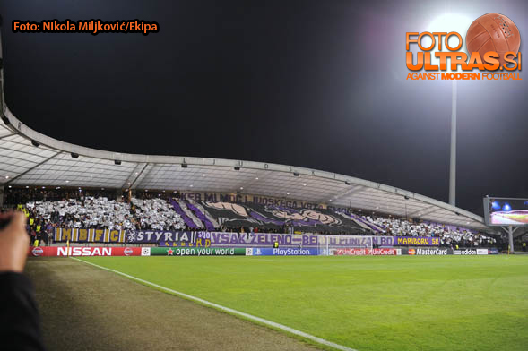 Soccer/Football, Maribor, Champions League (NK Maribor - Sporting Clube de Portugal), stadium Ljudski vrt, 17-Sep-2014, (Photo by: Nikola Miljkovic / Krater Media)