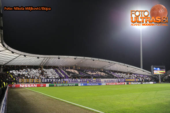 Soccer/Football, Maribor, Champions League (NK Maribor - Sporting Clube de Portugal), Viole, 17-Sep-2014, (Photo by: Nikola Miljkovic / Krater Media)
