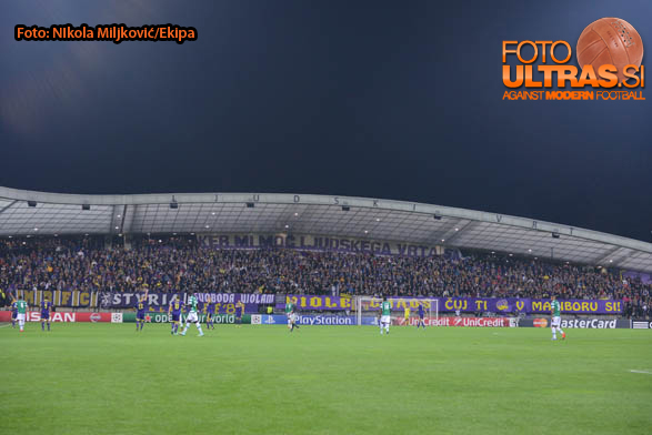 Soccer/Football, Maribor, Champions League (NK Maribor - Sporting Clube de Portugal), 17-Sep-2014, (Photo by: Nikola Miljkovic / Krater Media)