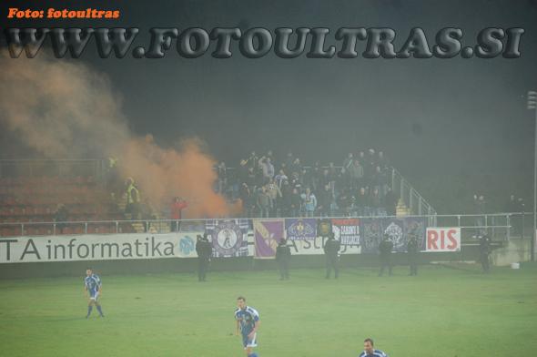 1/4-finale pokala Hervis: Nafta-Maribor, 20. oktober 2010