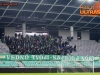Fans of NK Olimpija Ljublana, Green Dragons during football match between NK Olimpija Ljubljana and FC Koper in 23rd Round of Prva liga Telekom Slovenije 2015/16, on February 28, 2016 in Stadium SRC Stozice, Ljubljana, Slovenia. Photo by Urban Urbanc / Sportida