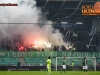 Fans of NK Olimpija Ljubljana, Green Dragons during football match between NK Olimpija Ljubljana and FC Koper in 23rd Round of Prva liga Telekom Slovenije 2015/16, on February 28, 2016 in Stadium SRC Stozice, Ljubljana, Slovenia. Photo by Urban Urbanc / Sportida