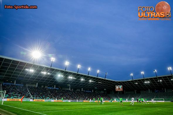 Stadium during football match between NK Olimpija Ljubljana and FC Koper in 25th Round of Prva Liga Telekom Slovenije 2016/17, on March 19, 2017 in SRC Stozice, Ljubljana, Slovenia. Photo by Vid Ponikvar / Sportida