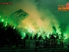 Green Dragons, fans of Olimpija during football match between NK Olimpija Ljubljana and NK Krsko in 21st Round of Prva liga Telekom Slovenije 2016/17, on December 11, 2016 in SRC Stozice, Ljubljana, Slovenia. Photo by Vid Ponikvar / Sportida