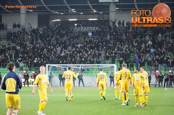 22. krog: Olimpija-Maribor, 12. 3. 2011