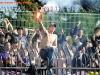 Slovenija, Ljubljana, 17. Oktober 2009. Nogomet, derbi, tekma med ekipama Olimpija Ljubljana in Maribor. Na fotografiji navijaci, viole, varnost. (Arsen Peric/ Fotosi)