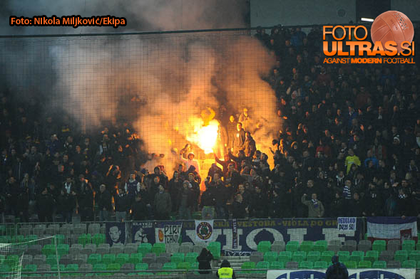 Soccer/Football, Ljubljana, First Division (NK Olimpija Ljubljana - NK Maribor), person, 04-Mar-2015, (Photo by: Nikola Miljkovic / M24.si)